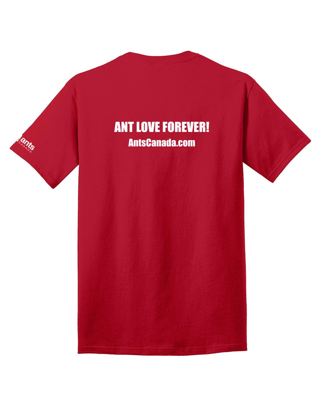 """Keep Calm and Keep Ants"" T-Shirt - AntsCanada"